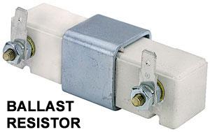 Resistor purpose of ballast Chrysler Electronic